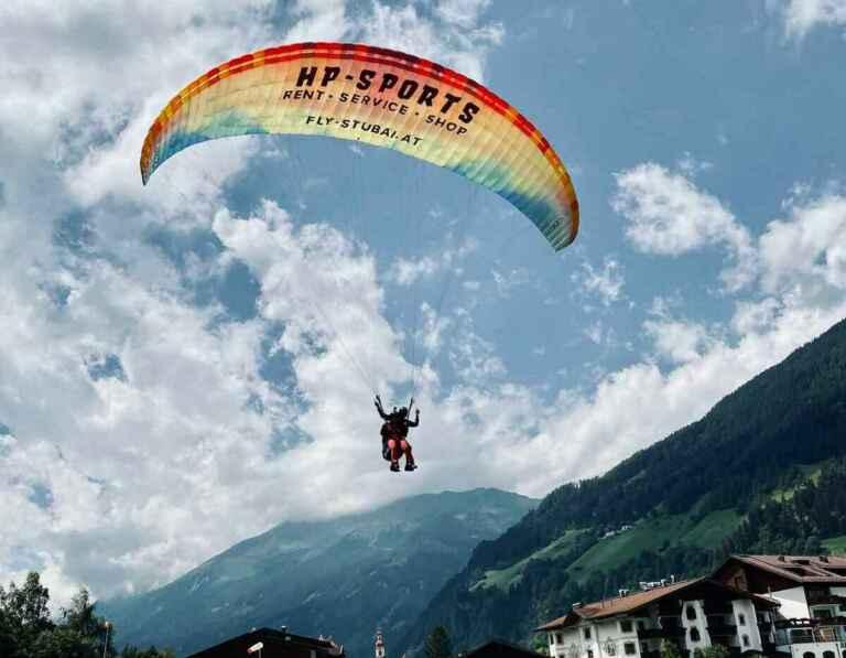 Paragliding Tirol mit Fly-Stubai im Stubaital