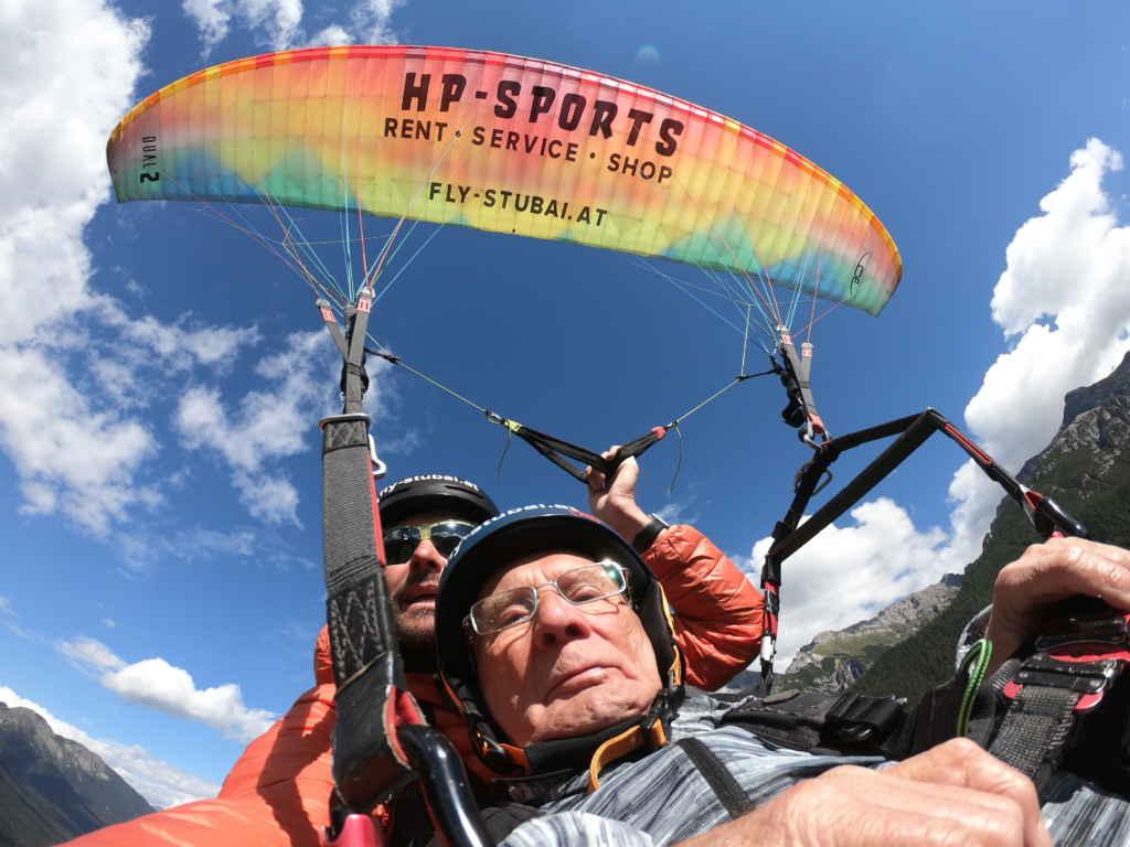 Paragliding Abenteuer für Jung und Alt