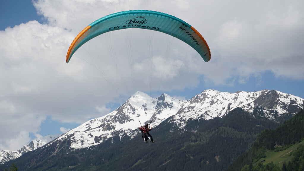 Paragleiten Tirol mit Fly-Stubai