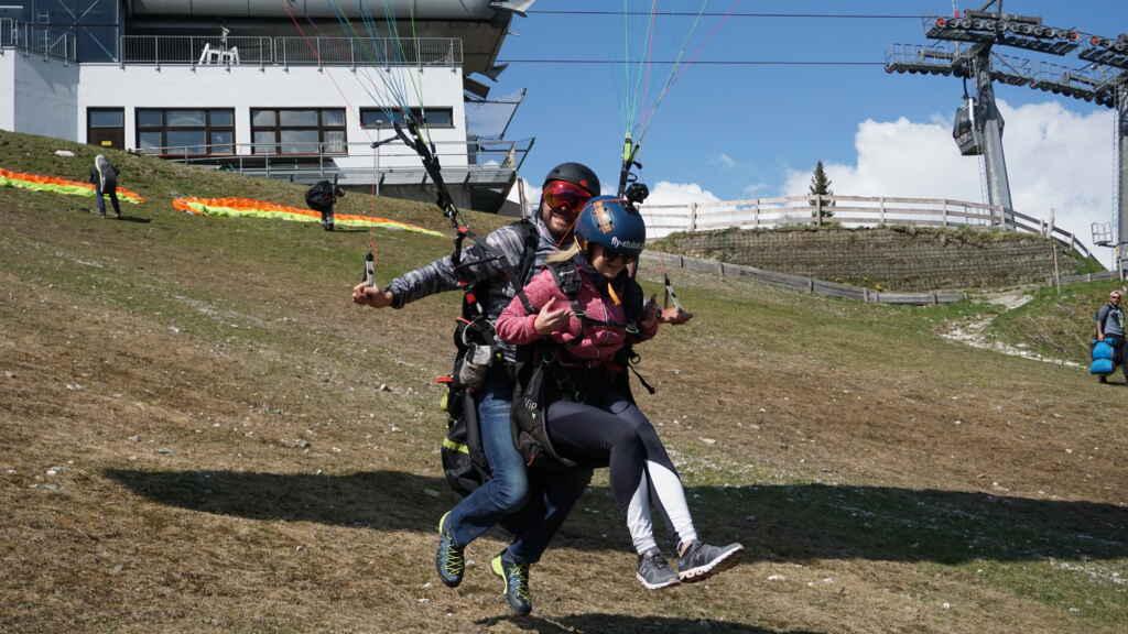 Paragliding Stubaital mit Fly-Stubai