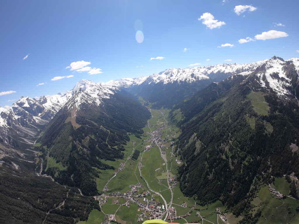 Paragliding Stubaital mit Fly-Stubai in Tirol