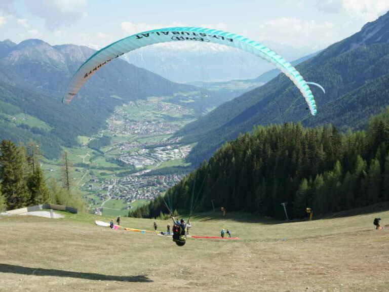 Tandem Paragliding Tirol im Stubaital mit Fly-Stubai
